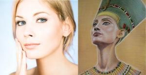 Nefertiti, Lipoaspiração de papada, mento, pescoço, lipoaspiração